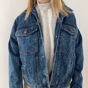 selling a jean jacket from urban outfitters